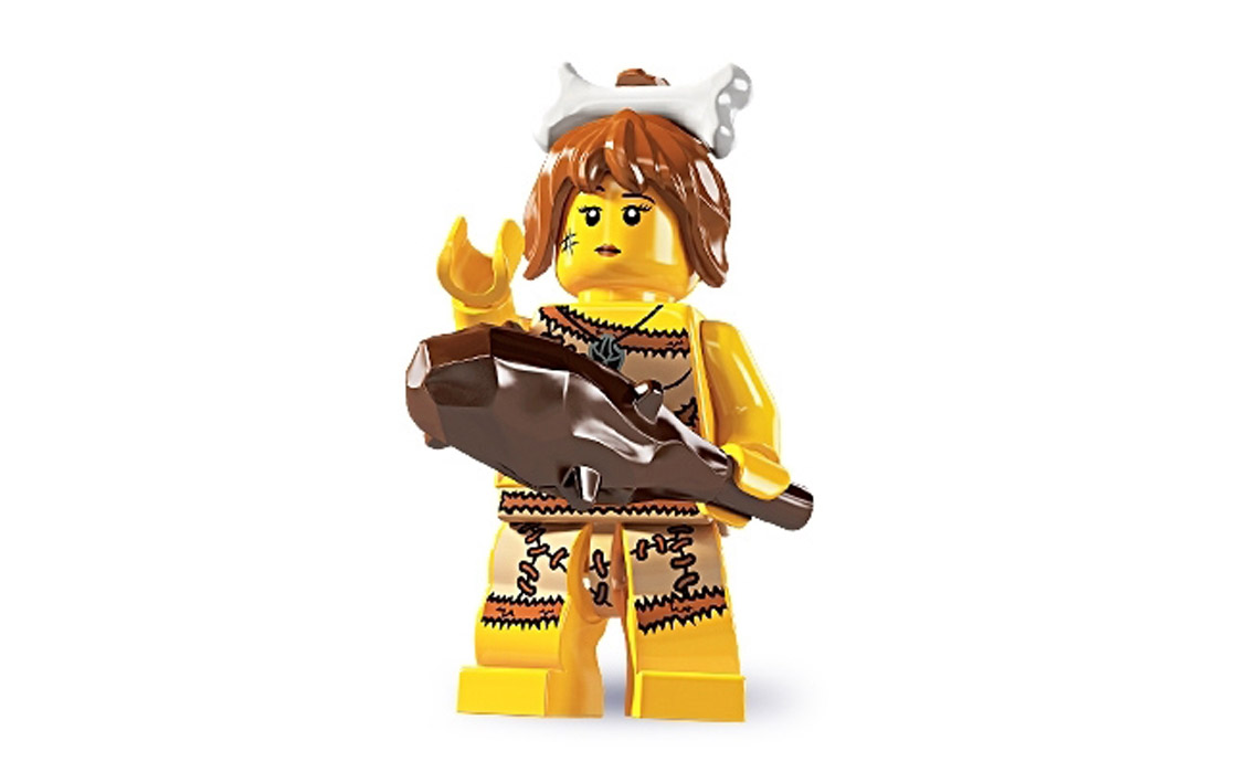 LEGO Minifigures Пещерная женщина (8805-5)