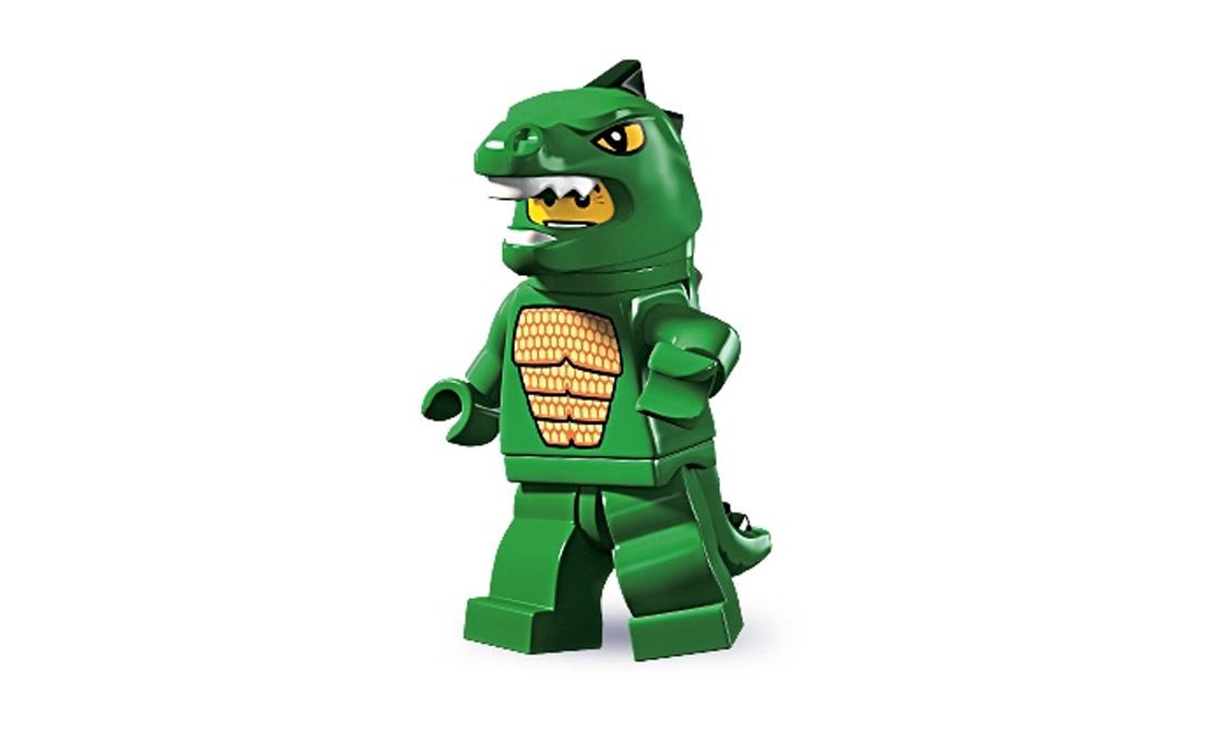 LEGO Minifigures Человек-ящерица (8805-6)