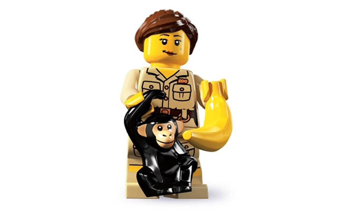 LEGO Minifigures Смотрительница зоопарка (8805-7)