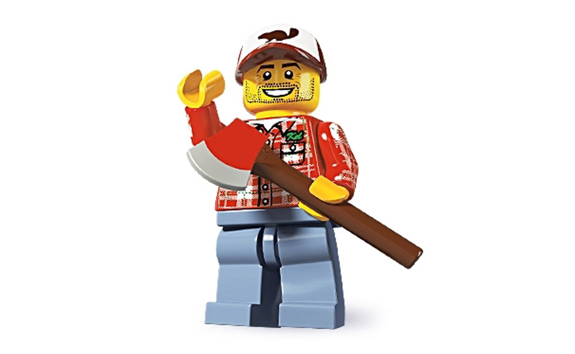 LEGO Minifigures Дровосек (8805-8)