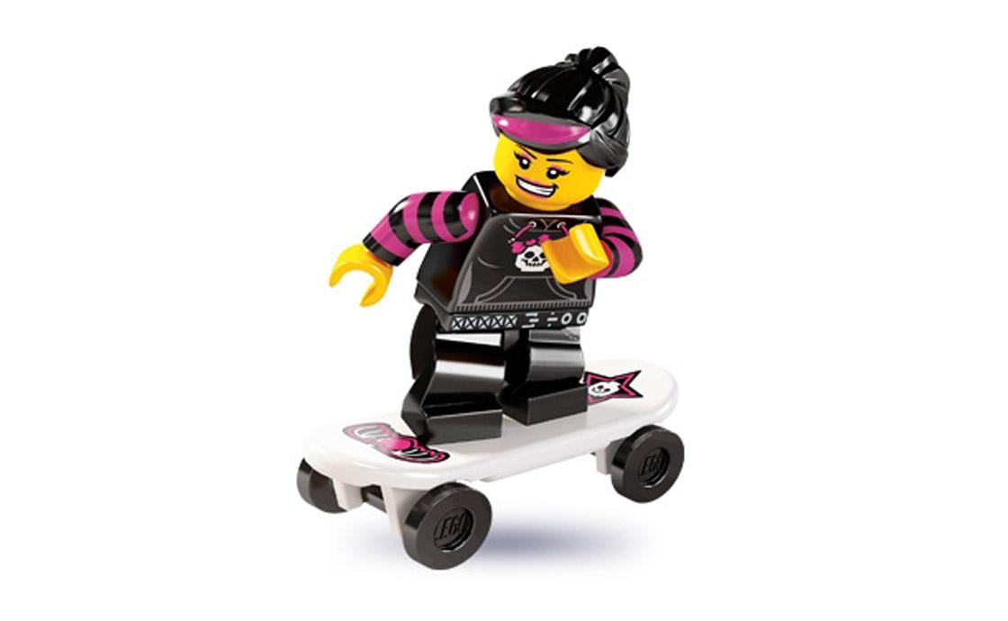 LEGO Minifigures Скейтерша (8827-12)