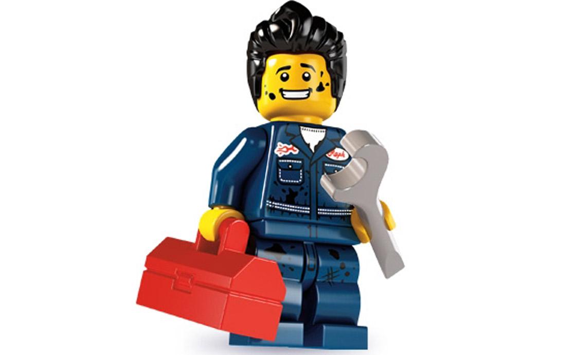 LEGO Minifigures Механик (8827-15)