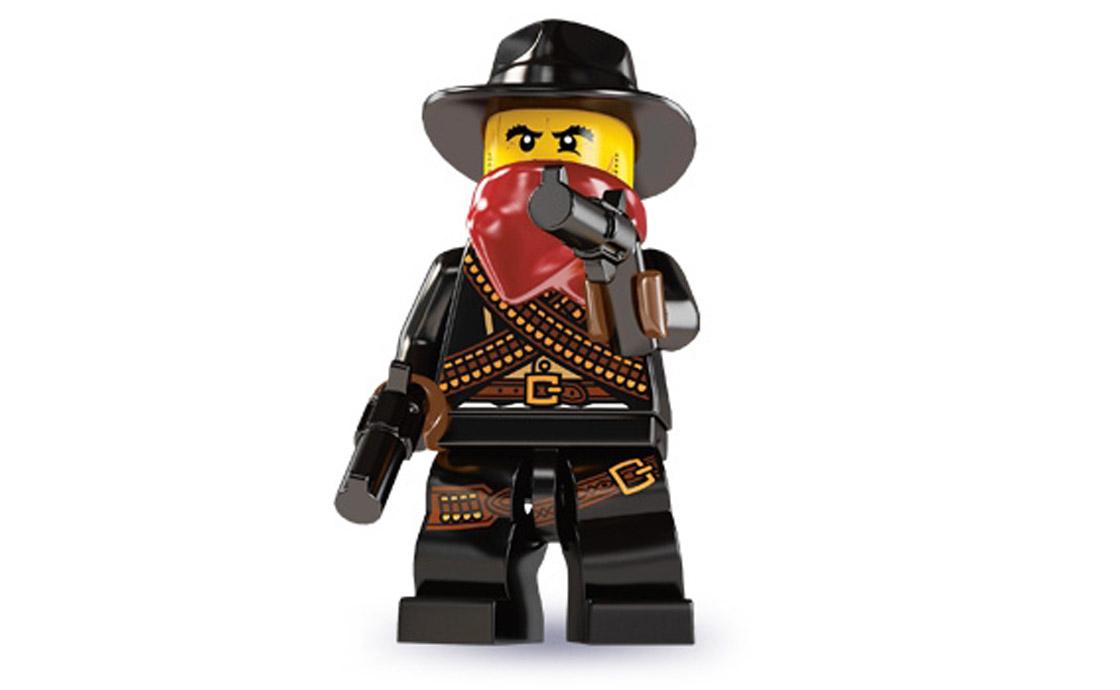 LEGO Minifigures Бандит (8827-5)