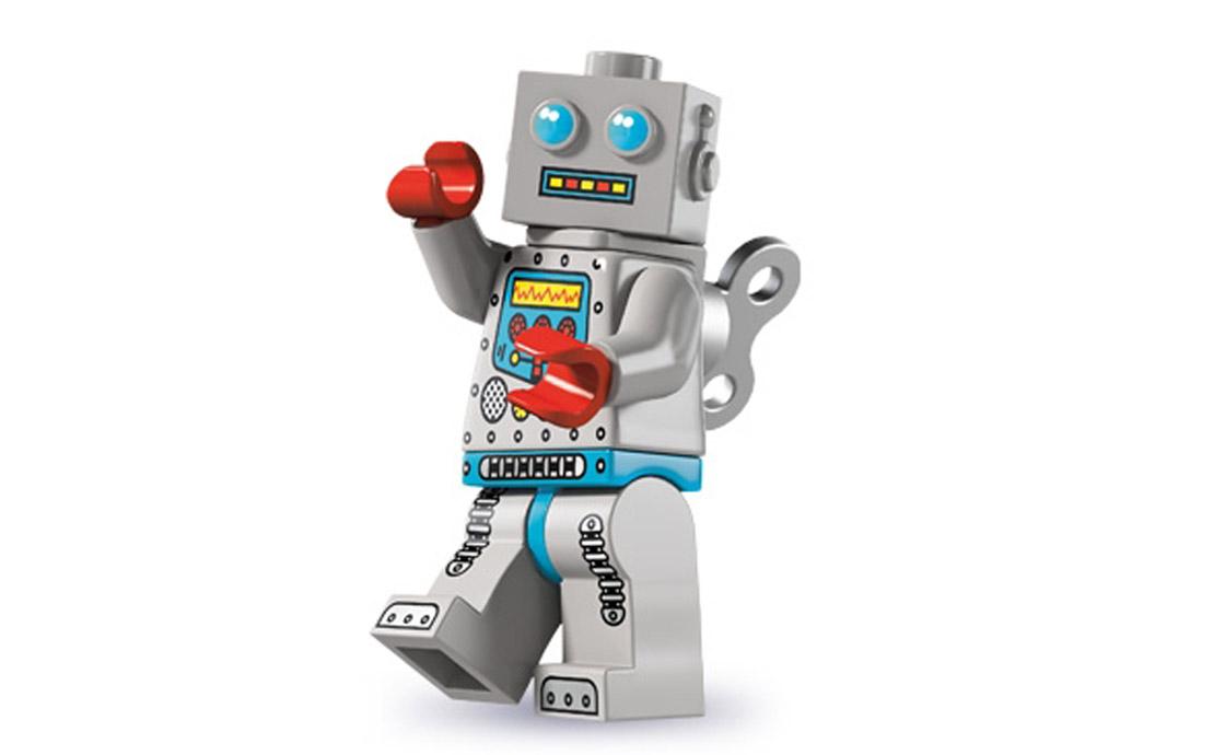 LEGO Minifigures Заводной робот (8827-7)