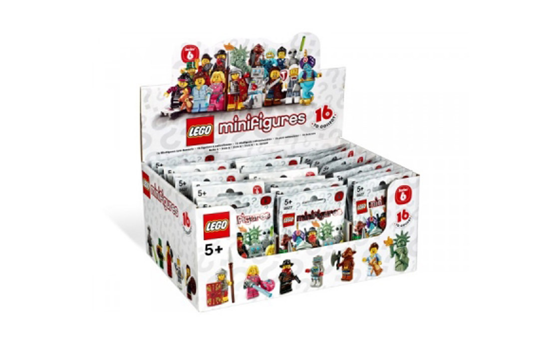 LEGO Minifigures Minifigures-vol 6 Блок (8827)