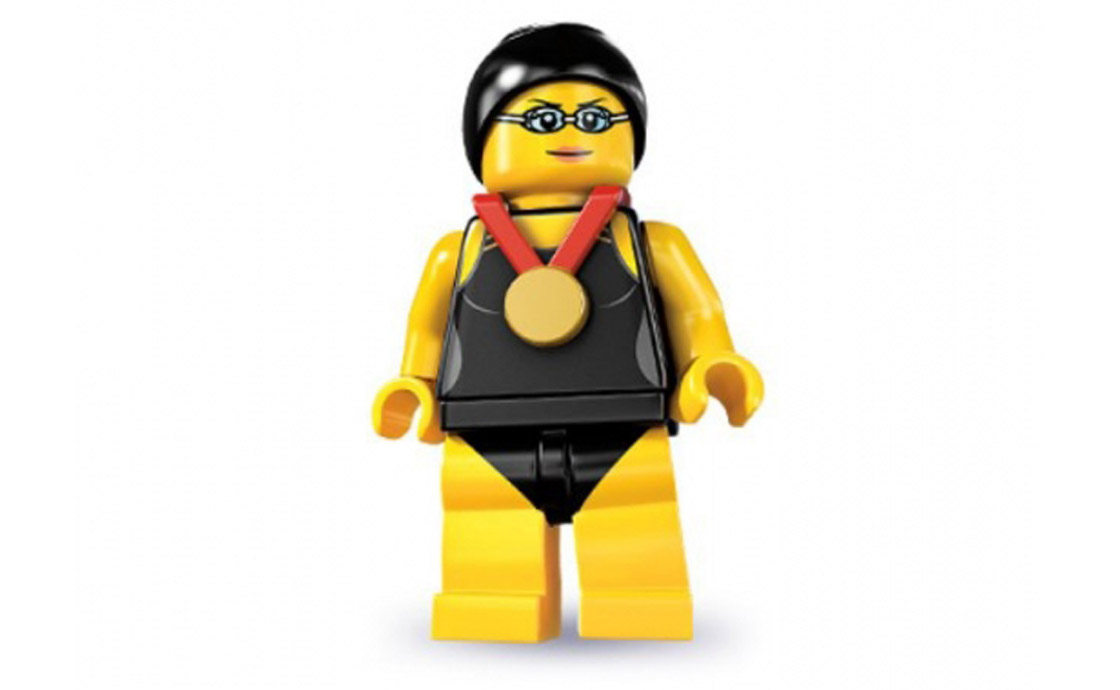 LEGO Minifigures Пловчиха (8831-1)