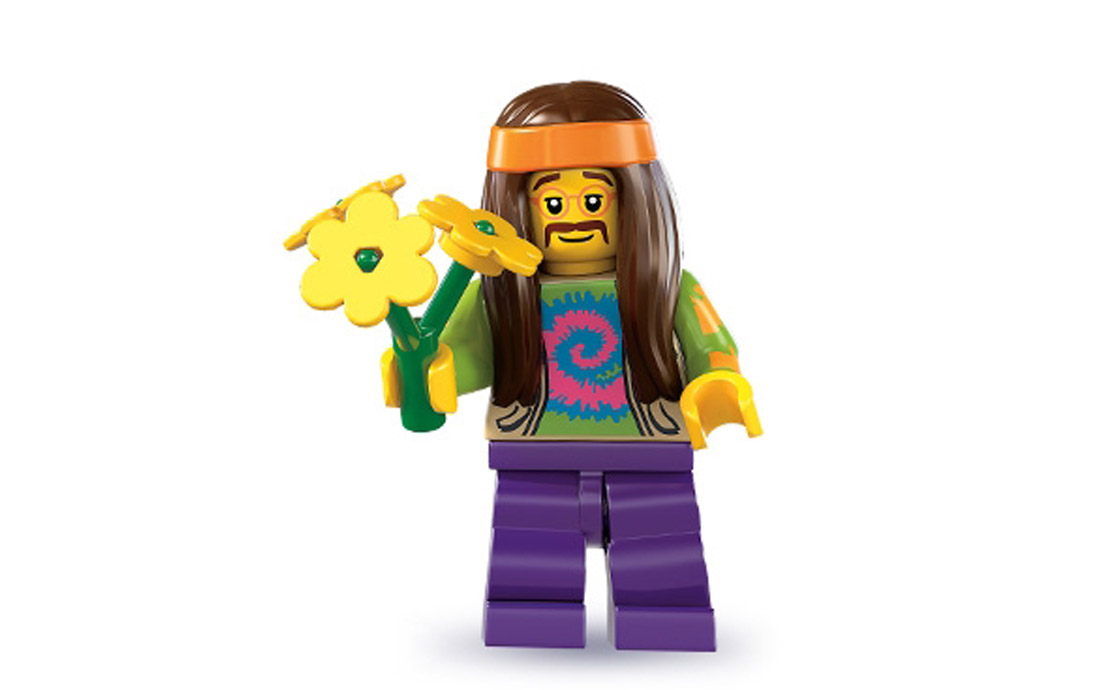 LEGO Minifigures Хиппи (8831-11)