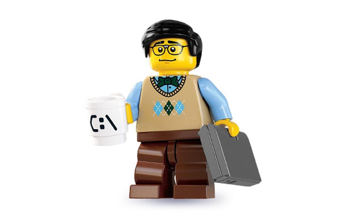 LEGO Minifigures Программист (8831-12)