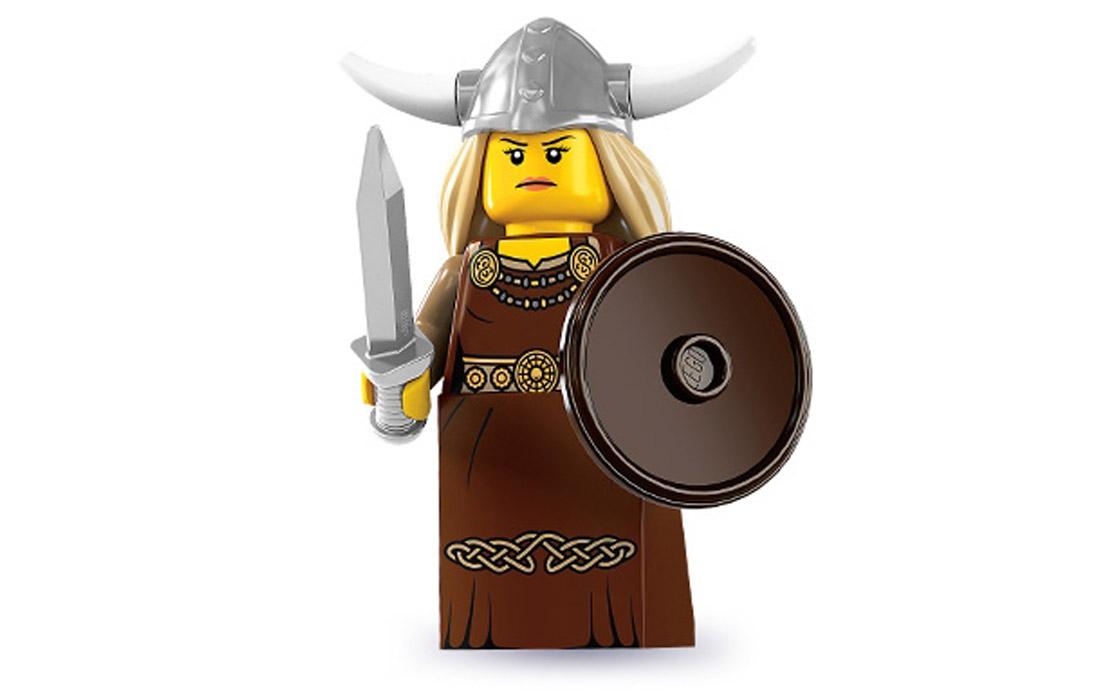 LEGO Minifigures Женщина викинг (8831-13)