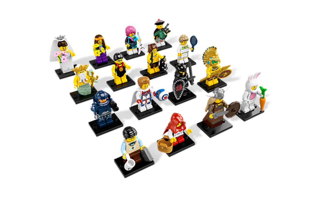 LEGO Minifigures Серия 7: полная коллекция (8831-16)