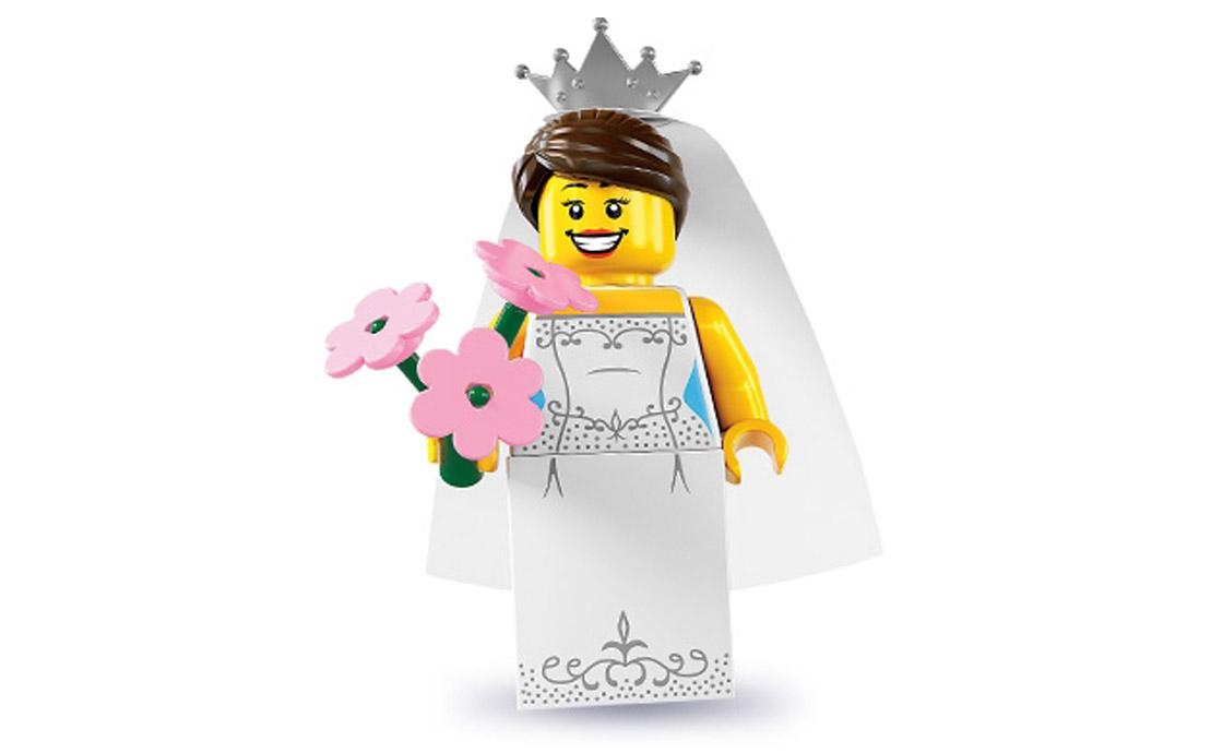 LEGO Minifigures Невеста (8831-4)