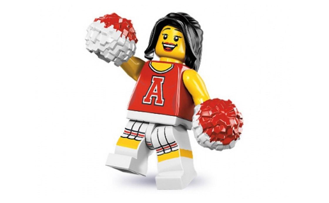LEGO Minifigures Болельщица (8833-13)