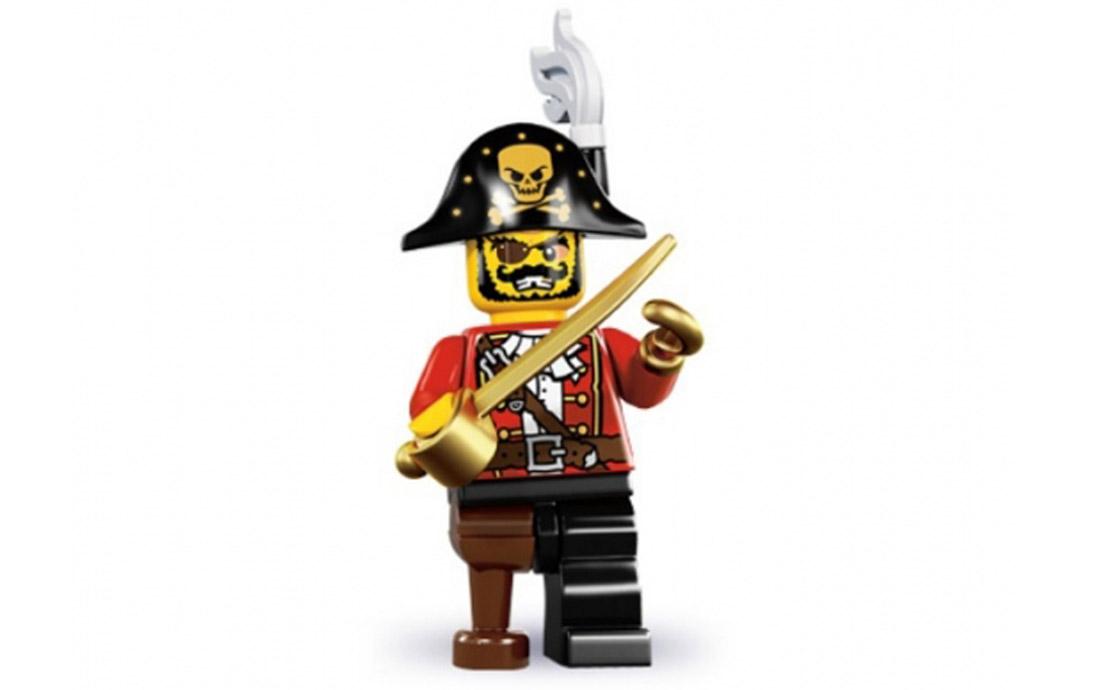 LEGO Minifigures Капитан пиратов (8833-15)