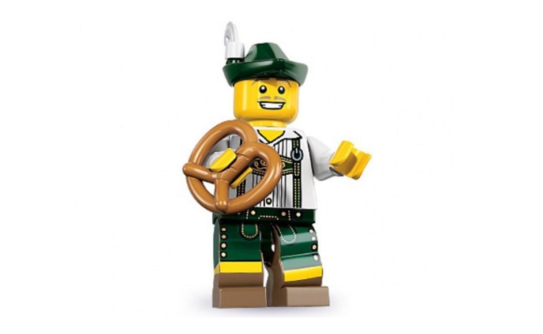 LEGO Minifigures Парень в кожаных штанах (8833-3)