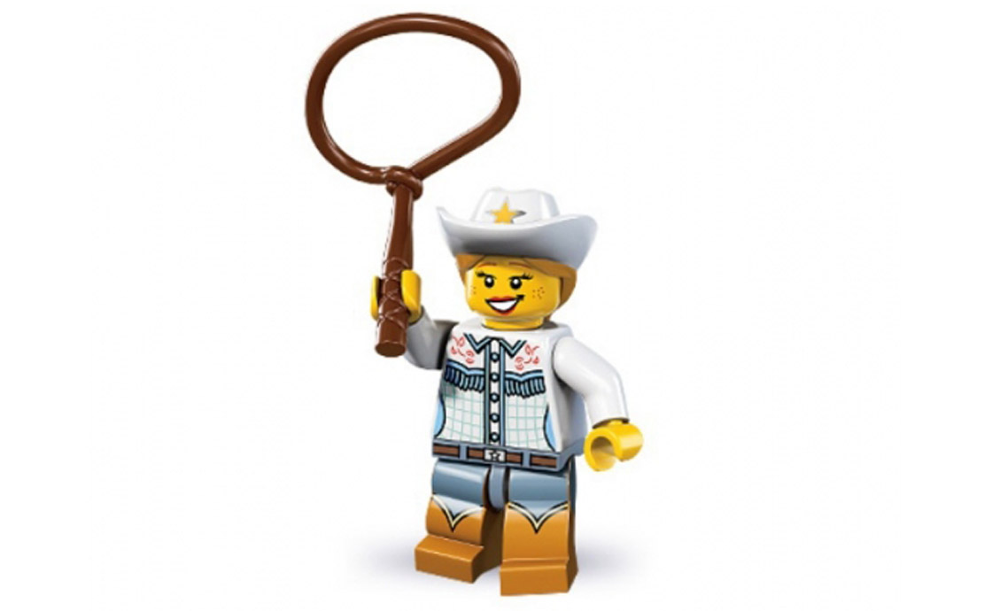 LEGO Minifigures Ковбойша (8833-4)