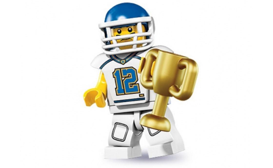 LEGO Minifigures Футболист (8833-5)