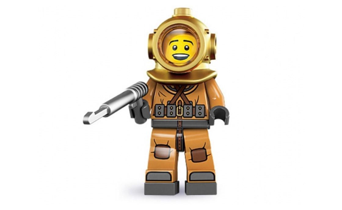 LEGO Minifigures Водолаз (8833-6)