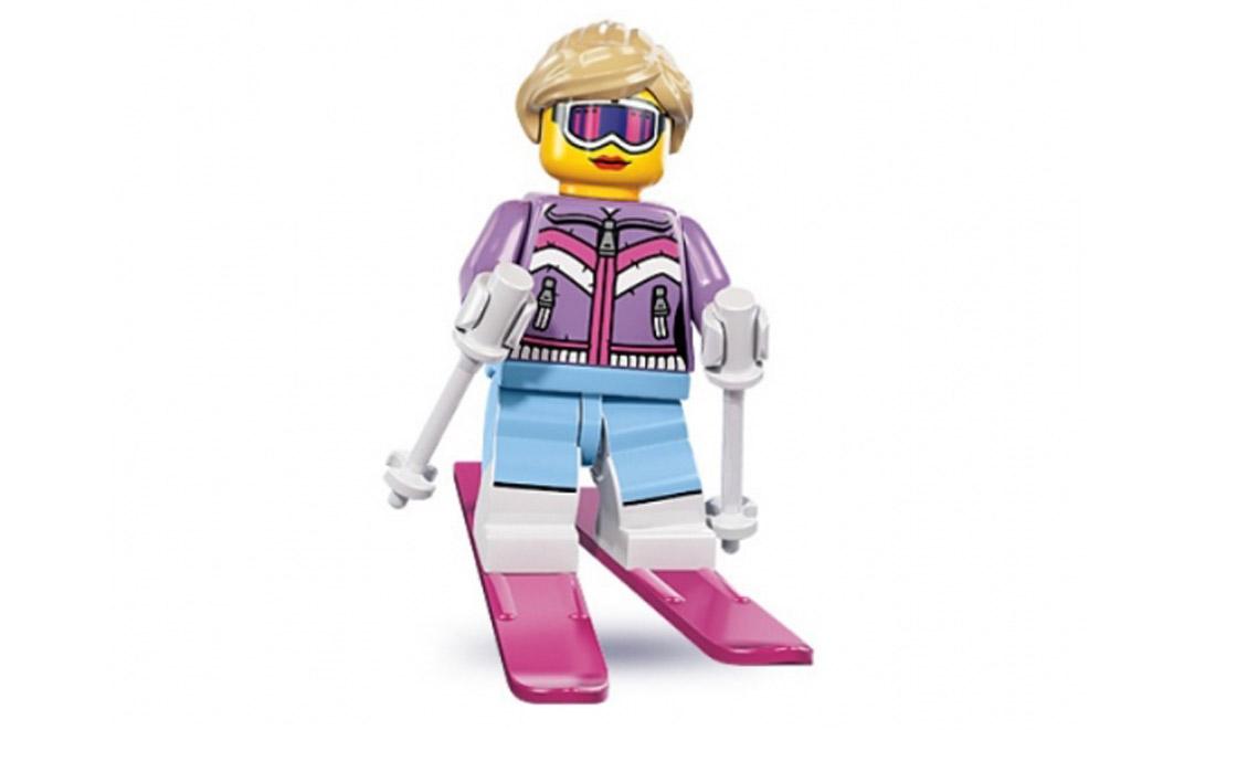 LEGO Minifigures Лыжница (8833-7)