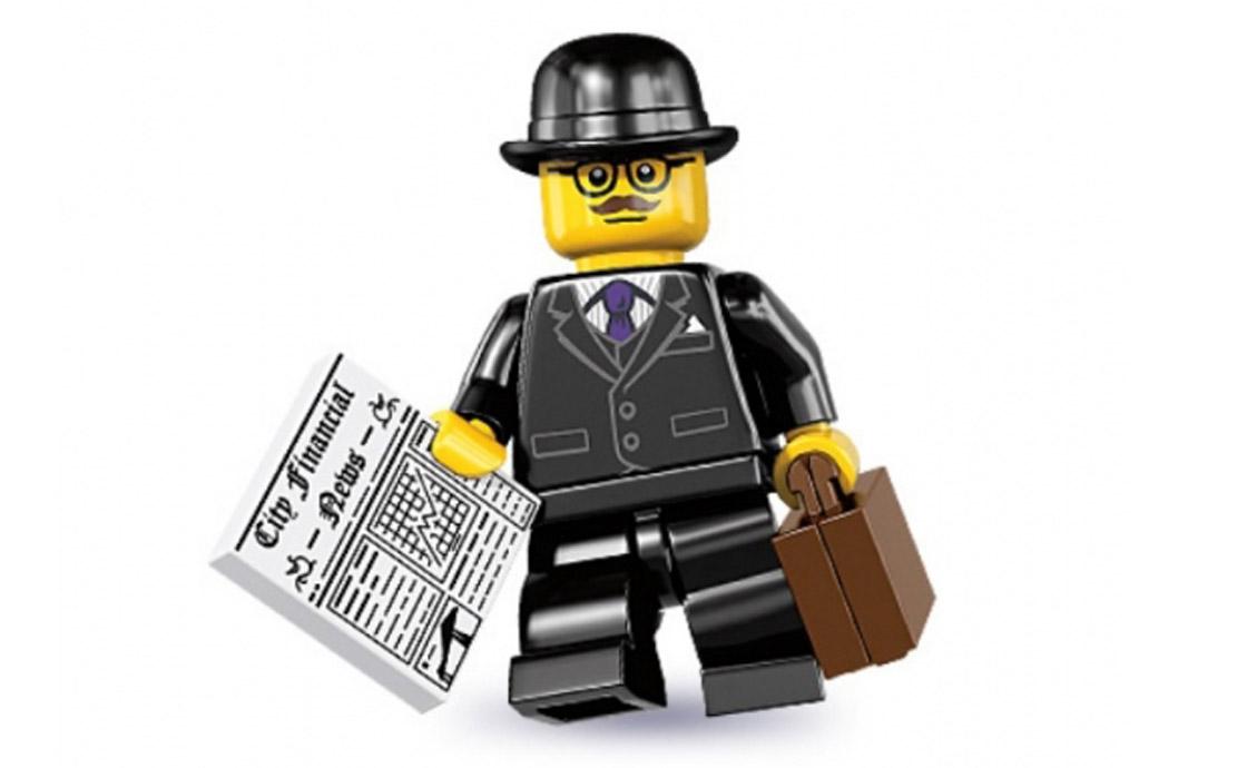LEGO Minifigures Бизнесмен (8833-8)