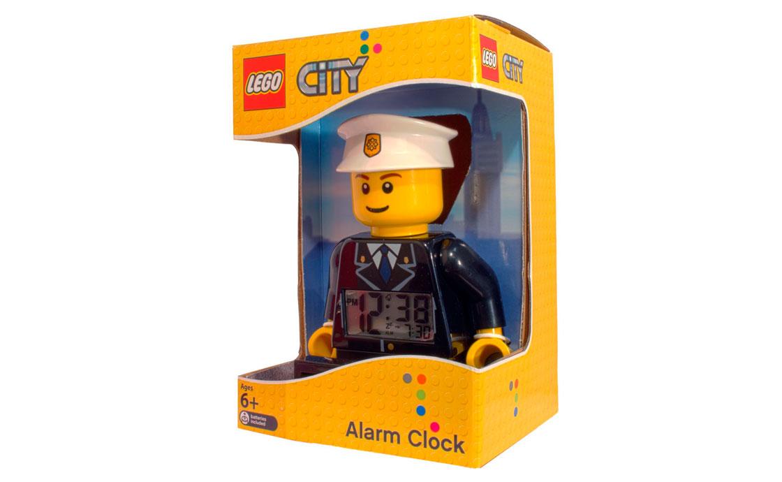 Часы Будильник Полицейский City (9002274)