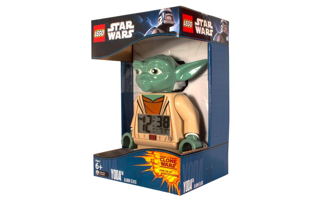 Часы LEGO Star Wars Будильник Йода (9003080)