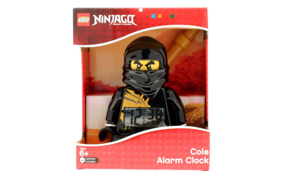 Часы Будильник Ниндзя Коул (9004148)