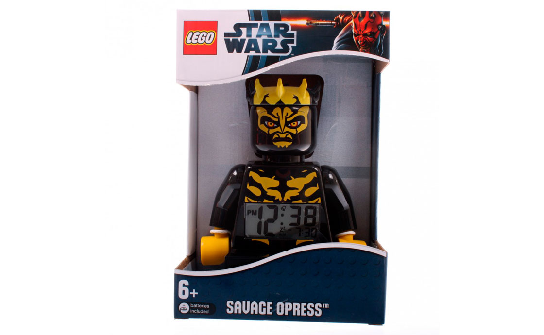 Часы LEGO Star Wars Будильник Savage (9005602)