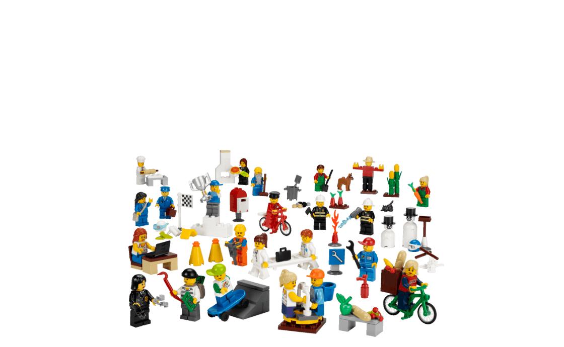 LEGO Education Служащие и рабочие (9348)