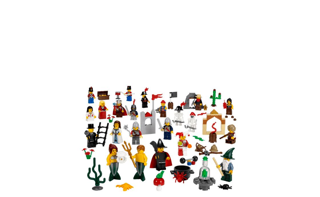 LEGO Education Сказочные и исторические персонажи (9349)