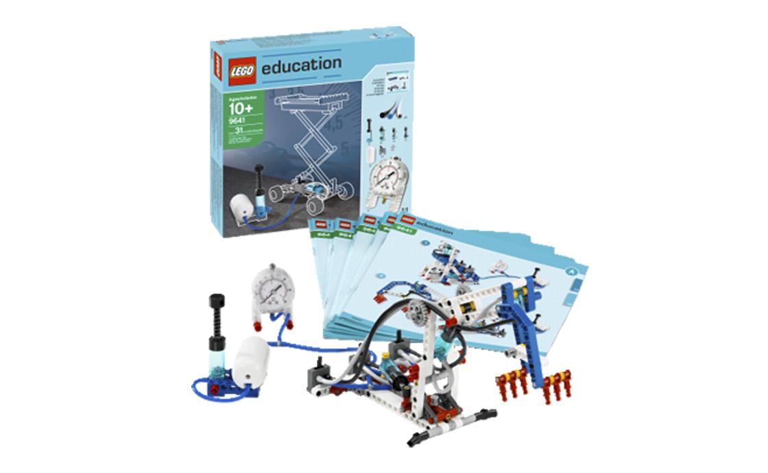 LEGO Education Набор дополнительных элементов Пневматика (9641)