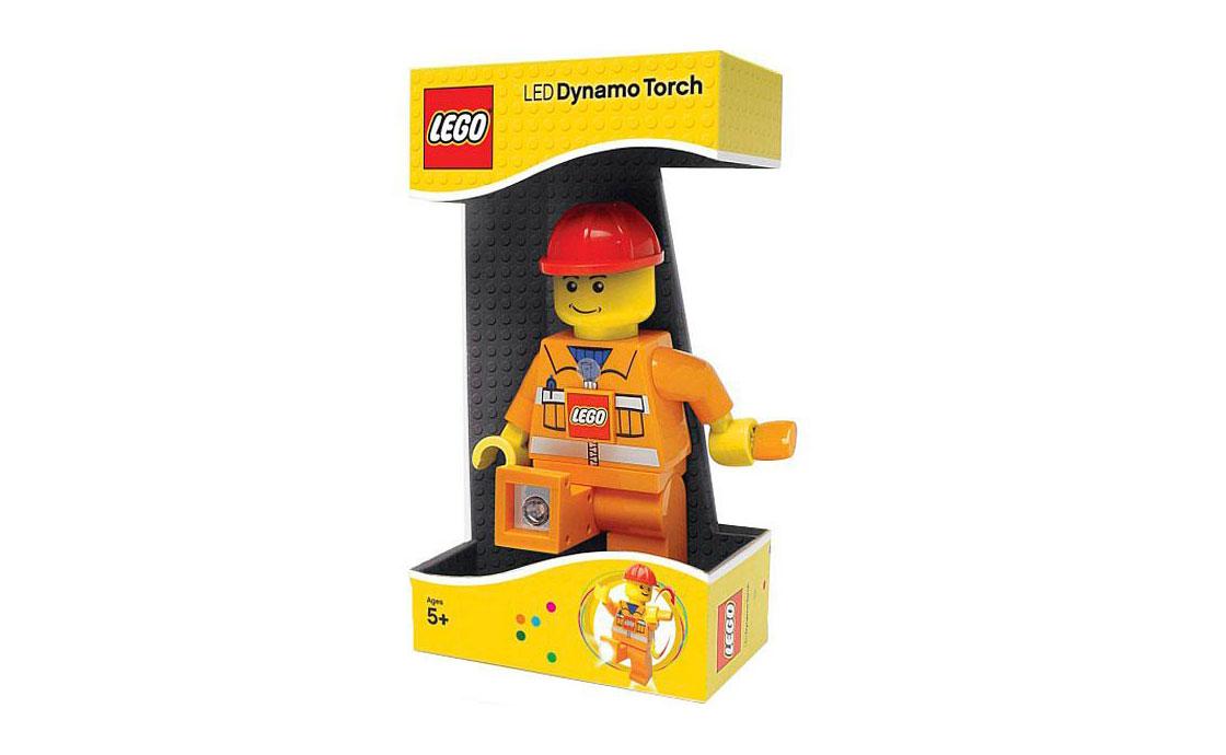 LEGO Accessories Фонарик с ручным механизмом, в ассортименте (LGL-DY2)