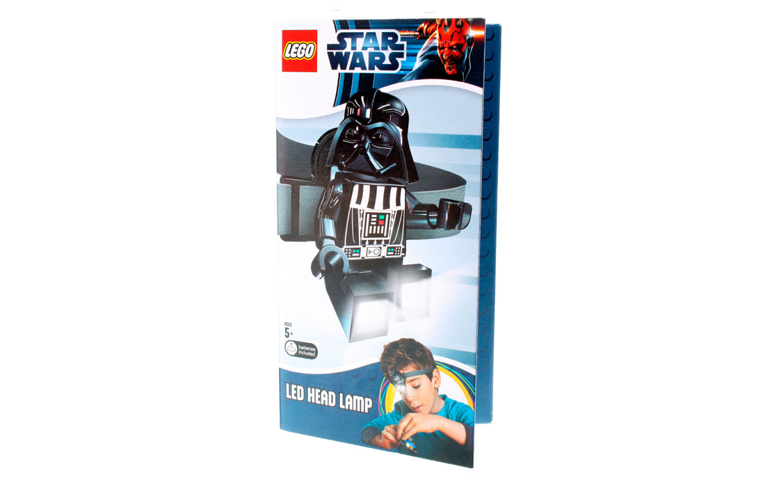 LEGO Accessories Фонарик Star Wars Дарт Вейдер (LGL-HE3)