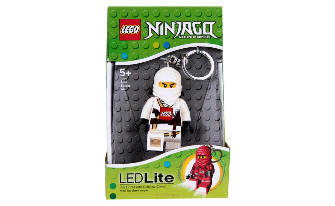 LEGO Accessories Брелок-фонарик Ниндзяго (Кей, Джей, Коул, Зейн) (LGL-KE15)