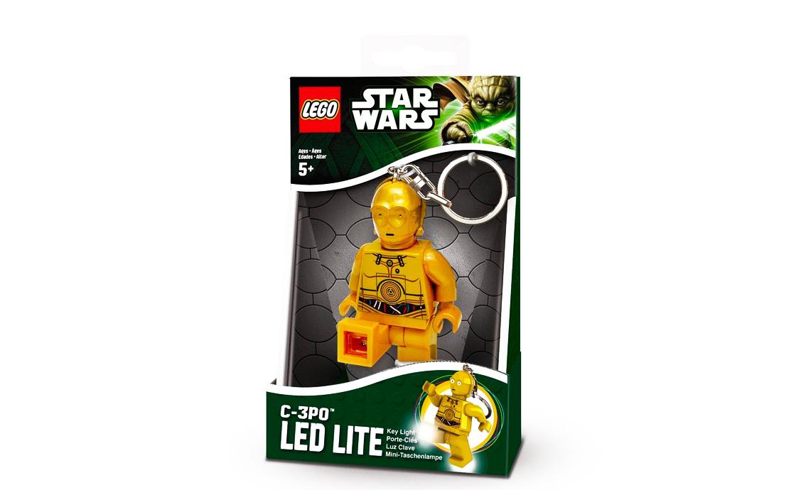 LEGO Accessories Star Wars брелок-фонарик C-3PO (LGL-KE18-BELL)
