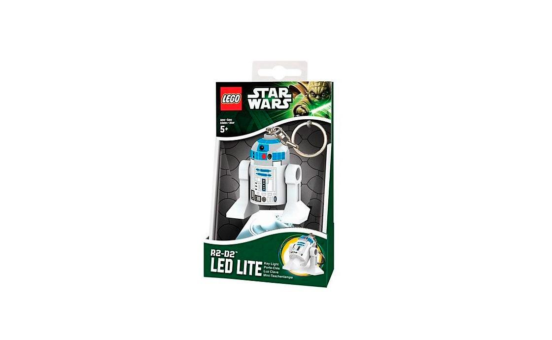 LEGO Accessories Star Wars брелок-фонарик R2-D2 (LGL-KE21-BELL)