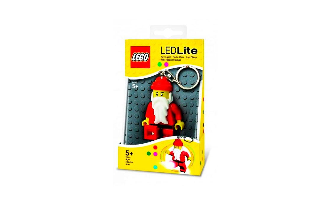 LEGO Accessories Брелок-фонарик Санта (LGL-KE25-BELL)