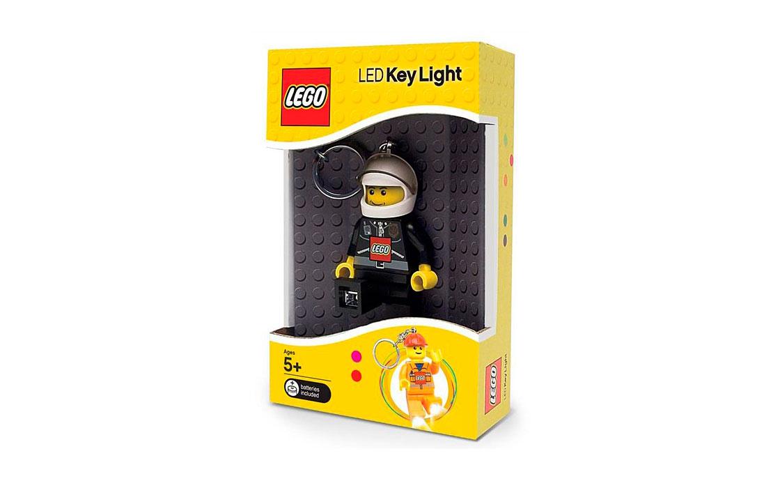 LEGO Accessories Фигурка брелок-фонарик с батарейкой, в ассортименте (LGL-KE2)