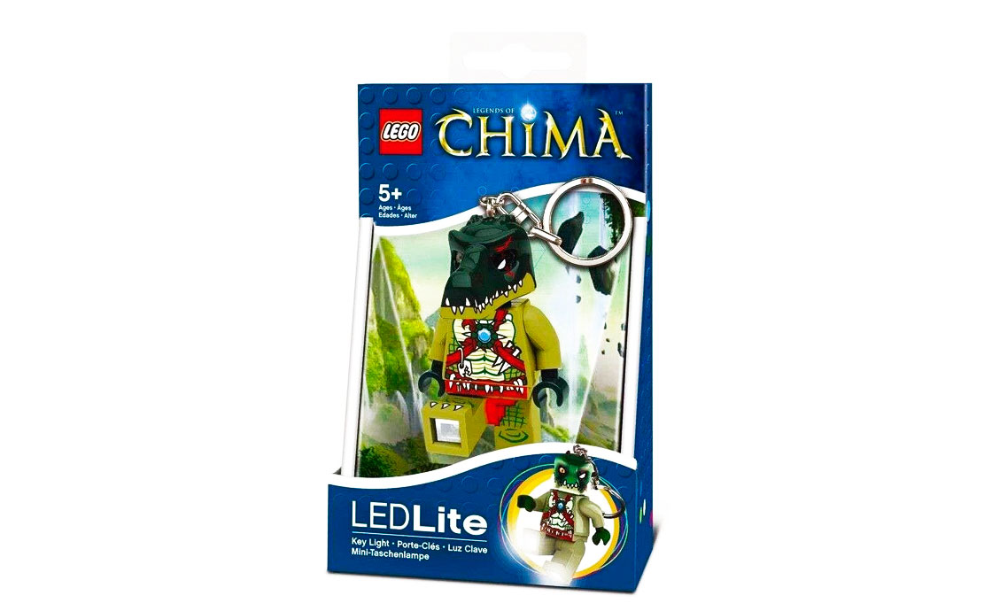 LEGO Accessories Брелок-фонарик Краггер (LGL-KE36-BELL)