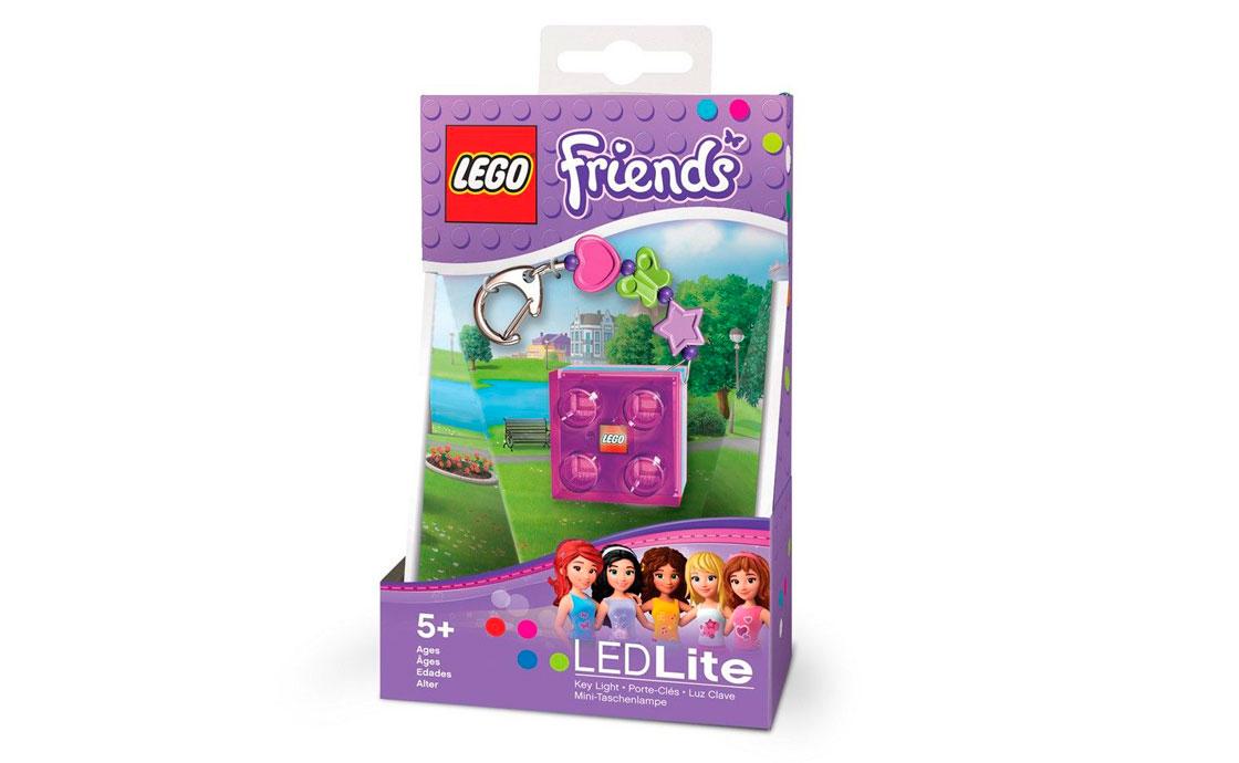 LEGO Accessories Friends брелок-фонарик с украшением (LGL-KE3F-BELL)