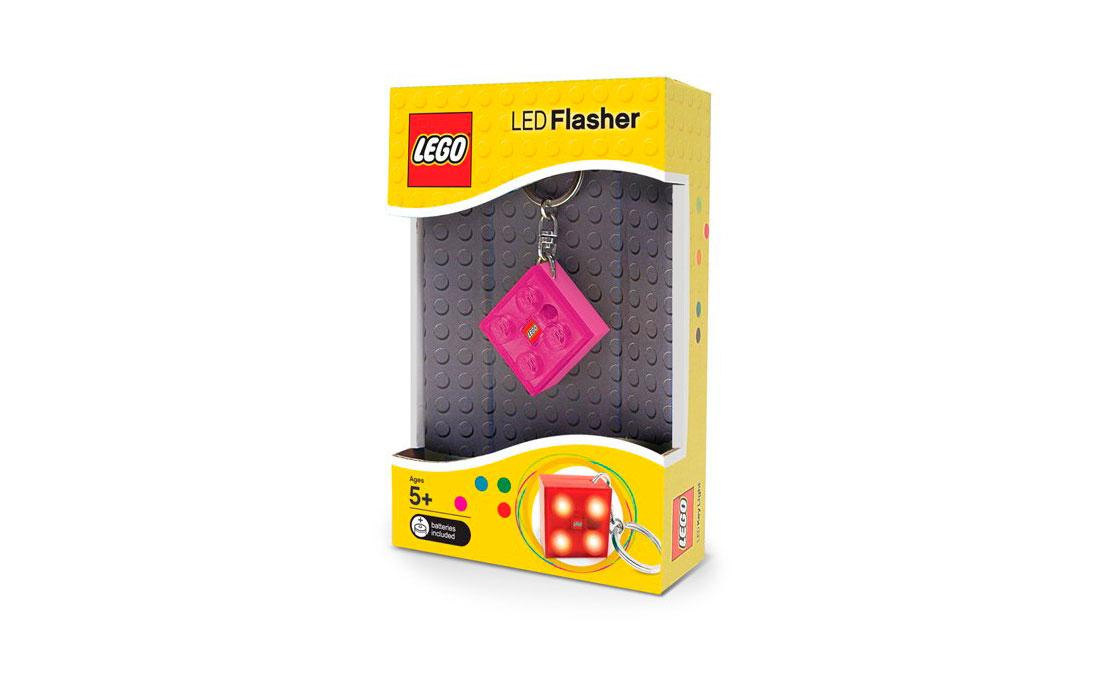 LEGO Accessories Брелок-фонарик-маячок для девочек (LGL-KE3G)