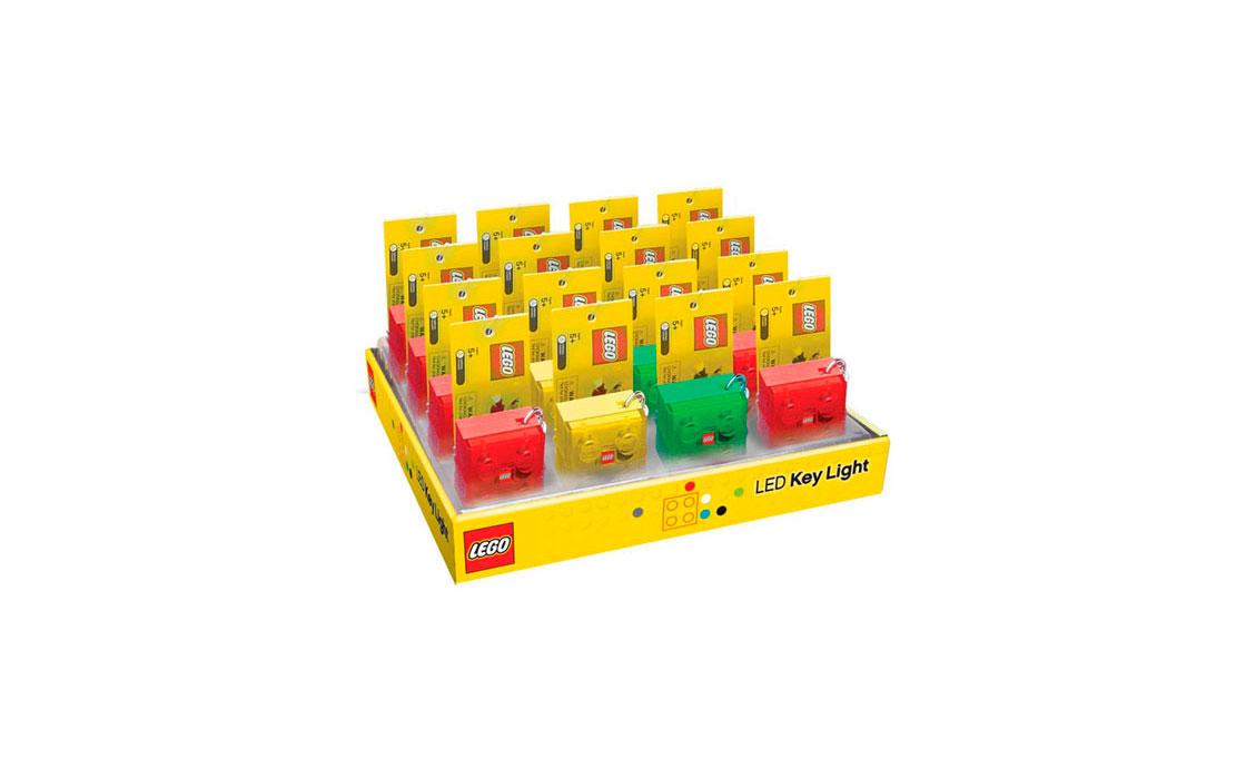 LEGO Accessories Фонарик-маячок с батарейками, в ассортименте (LGL-KE3T)