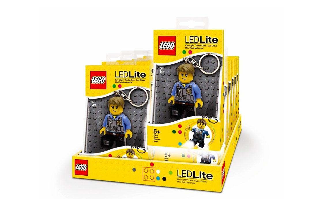 LEGO Accessories Брелок-фонарик Полицейский (LGL-KE41-BELL)