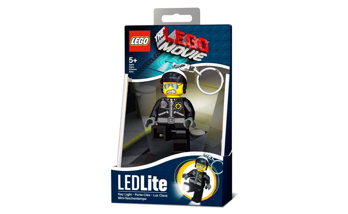 LEGO Accessories IQ Брелок-фонарик Плохой Коп (LGL-KE46-BELL)