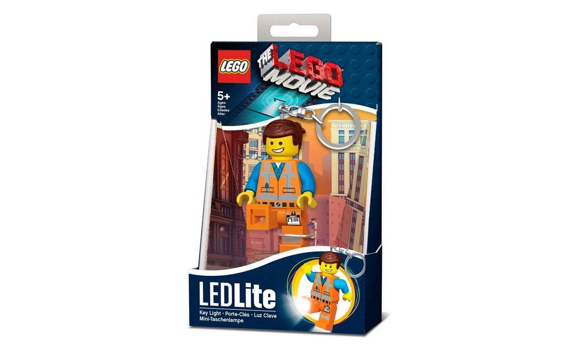 LEGO Accessories Брелок-фонарик Эммет (LGL-KE47-BELL)