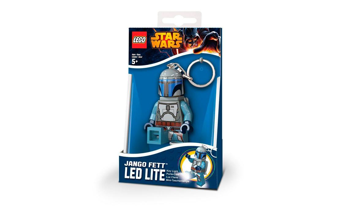 LEGO Accessories Брелок-фонарик Джанго Фетт (LGL-KE67-6-BELL)