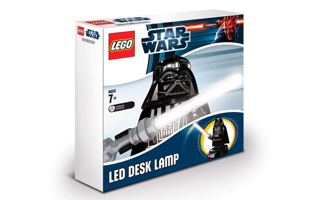 LEGO Accessories IQ Настольная лампа Дарт Вейдер с батарейкой (LGL-LP2B)