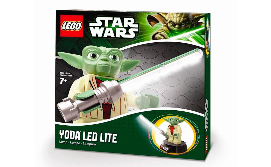 LEGO Accessories LEGO Star Wars Лампа Мастер Йода (LGL-LP9-BELL)