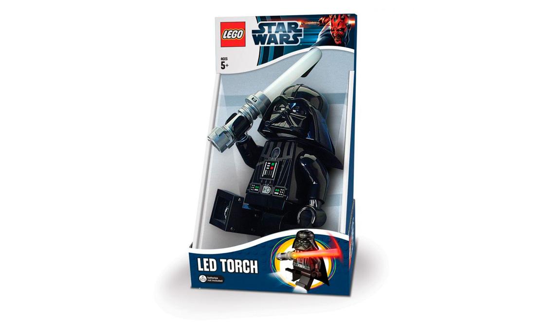 LEGO Accessories LEGO Star Wars Фонарик-факел Дарт Вейдер с батарейкой (LGL-TO3B)