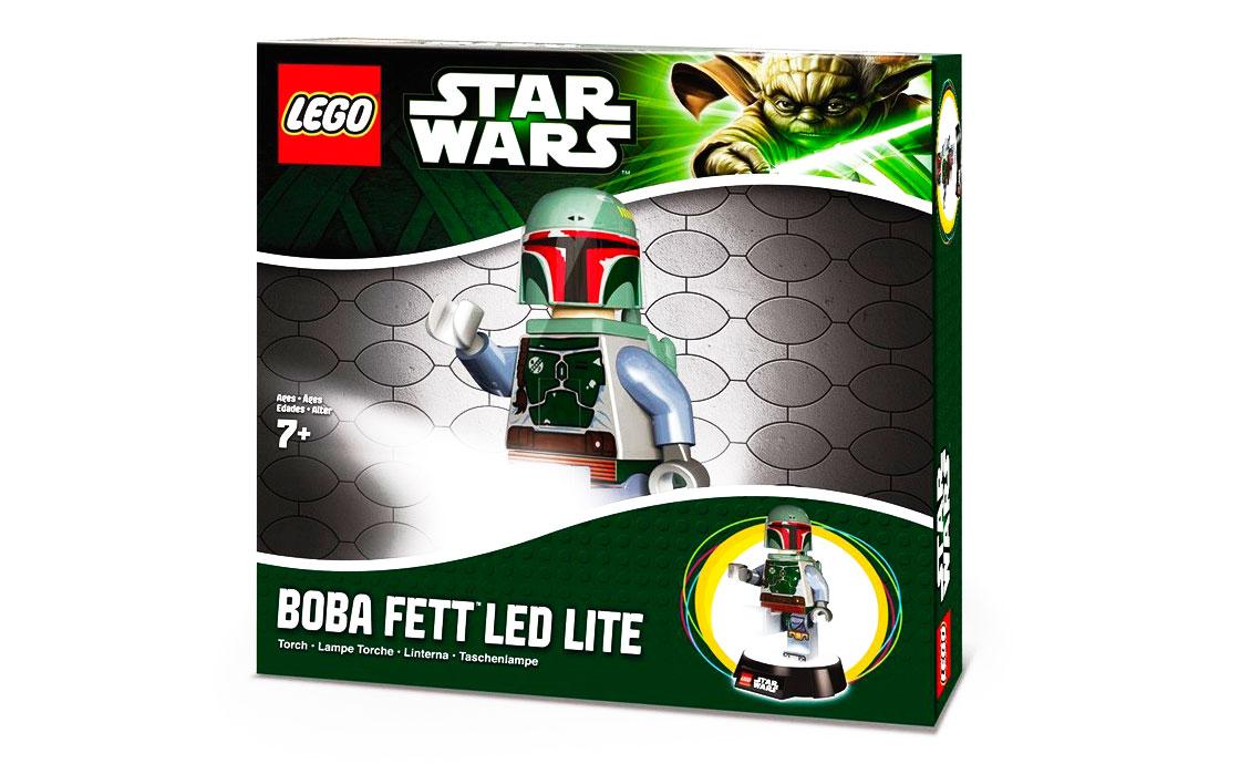 LEGO Accessories LEGO Star Wars Настольная лампа Boba Fett (LGL-TOB8-BELL)