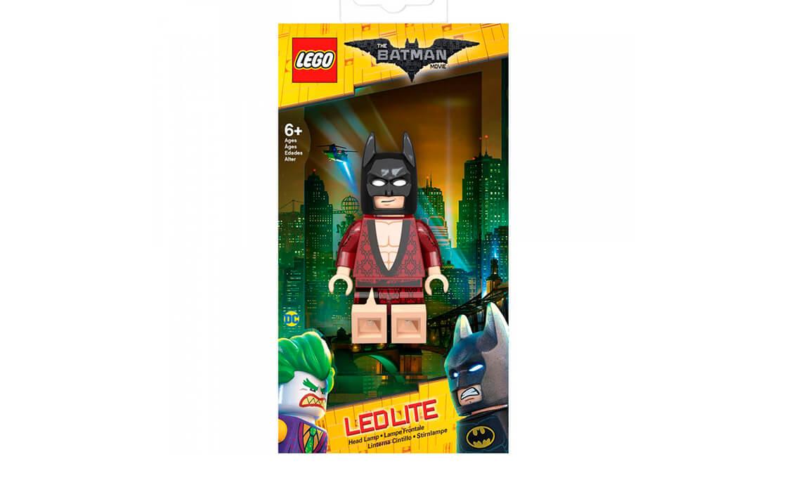 THE LEGO BATMAN MOVIE LEGO Accessories IQ Бетмен в кімоно – ліхтарик на голову (LGL-HE20K)